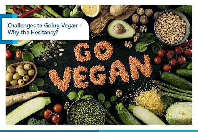 challenges to going vegan