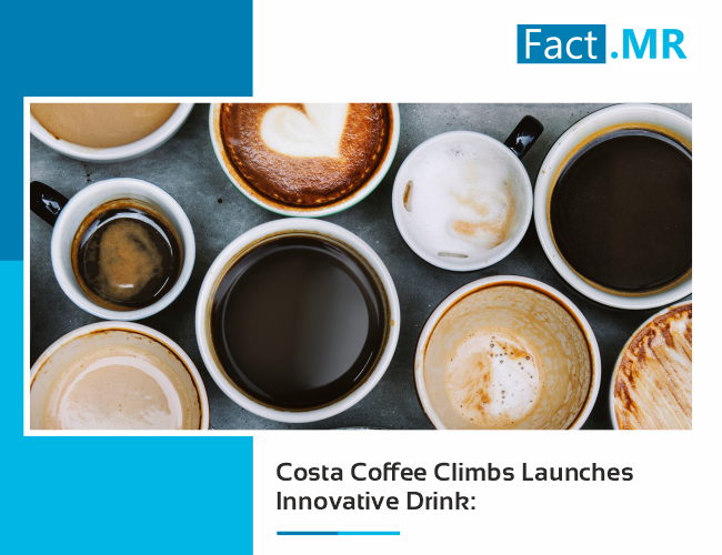 Costa coffee climbs launches innovative drink