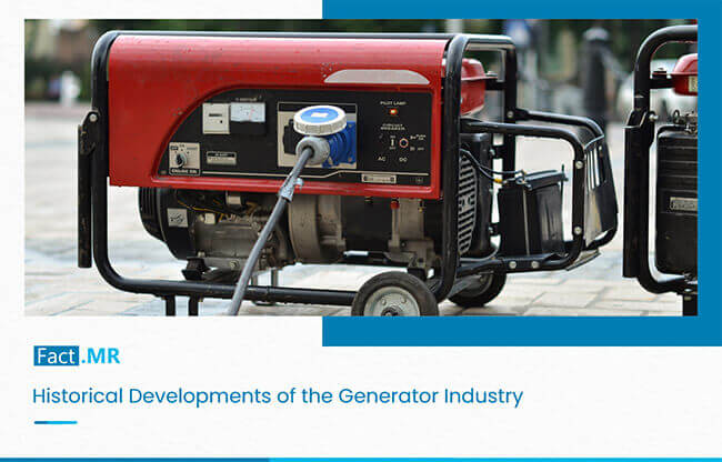 Historical development of generator industry