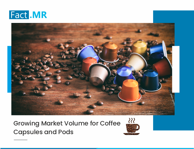 Growing market volume for coffee capsules and pods