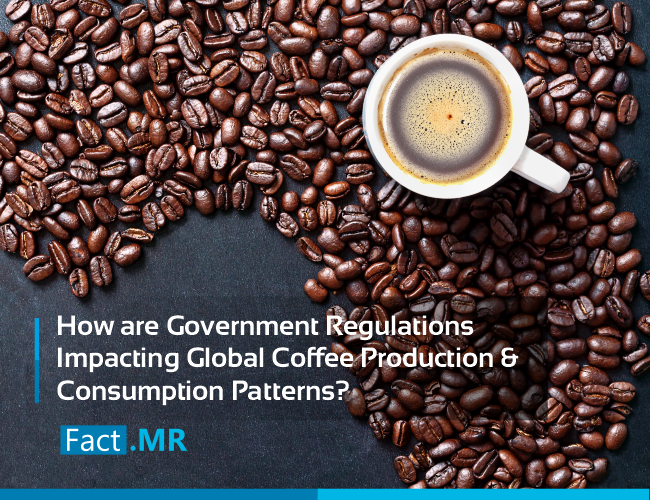 How are government regulations impacting global coffee production and consumption patterns