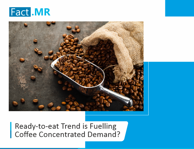 Ready to eat trend is fuelling coffee concentrated demand