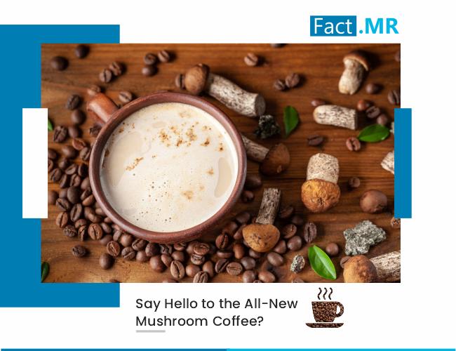 Say hello to the all new mushroom coffee