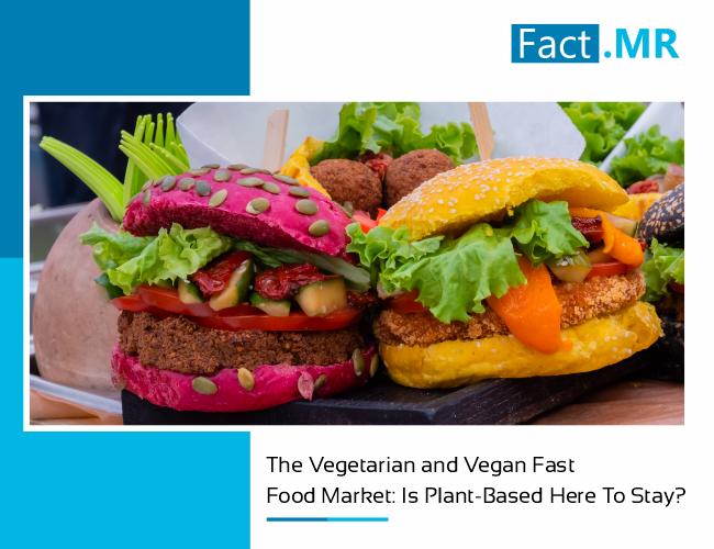 Vegetarian and vegan fast food market