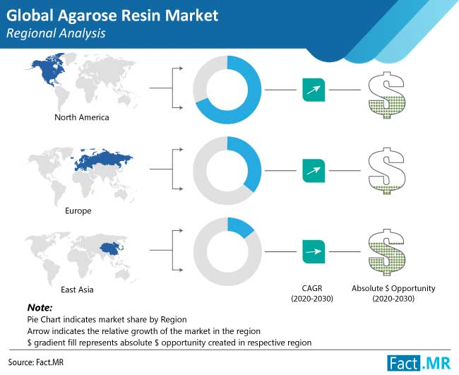 agarose resin market regional analysis