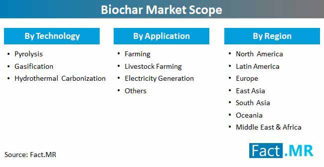 biochar market scope