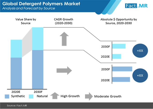 detergent polymers market analysis and forecast by source