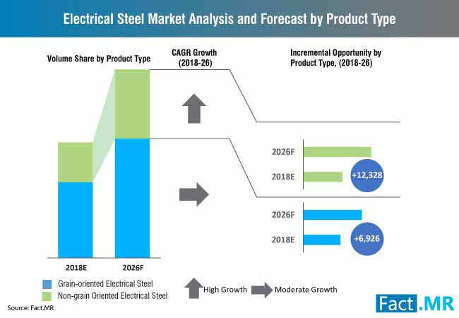 electrical steel market analysis and forecast by product type