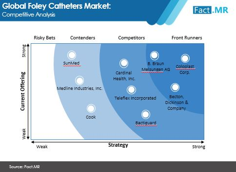 foley catheters market competitive analysis