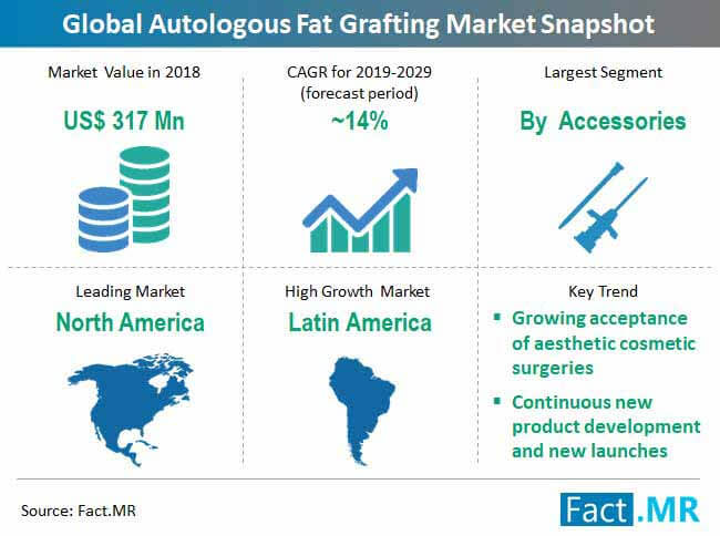 global autologous fat grafting market snapshot