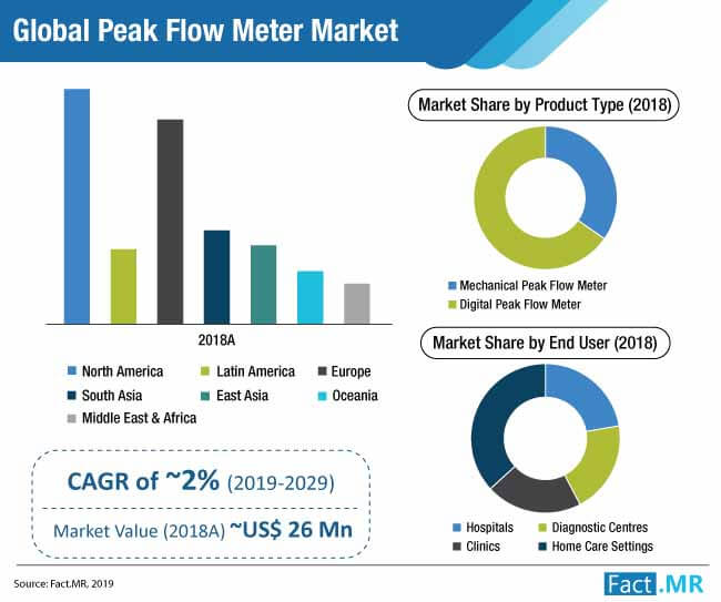 global peak flow meter market