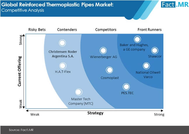 global reinforced thermoplastic pipes market competitive analysis