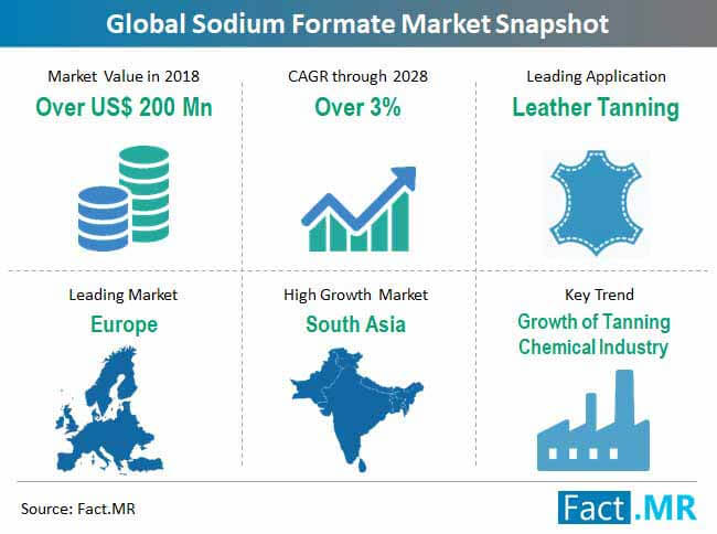 global sodium formate market snapshot