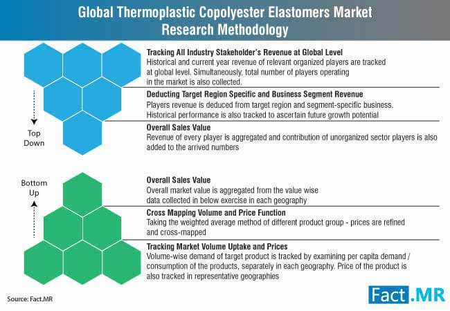 global thermoplastic copolyester elastomers market research methodology