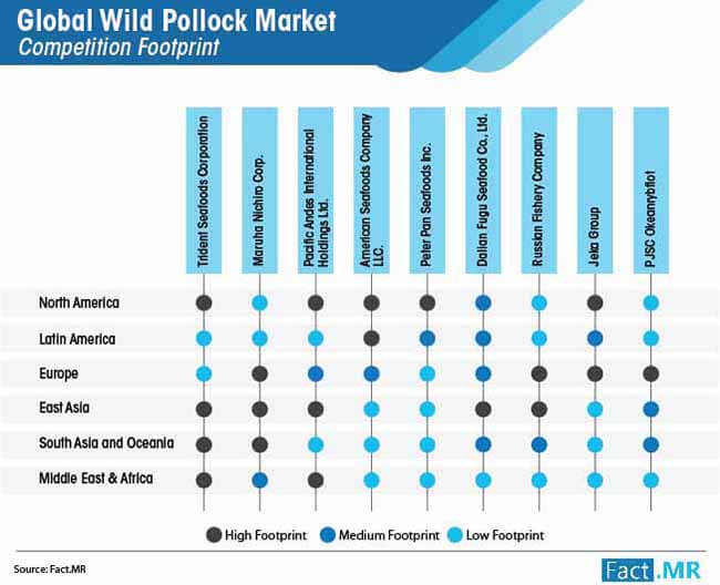 global wild pollock market competition analysis