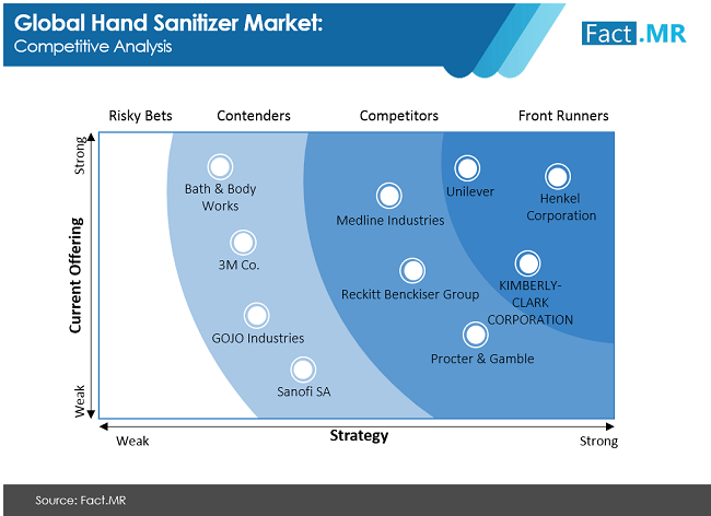 Hand Sanitizer Market Competitive Analysis