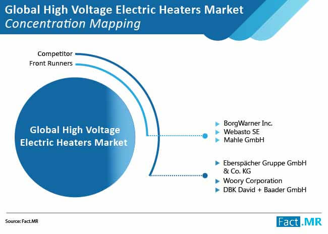 high voltage electric heaters market concentration mapping