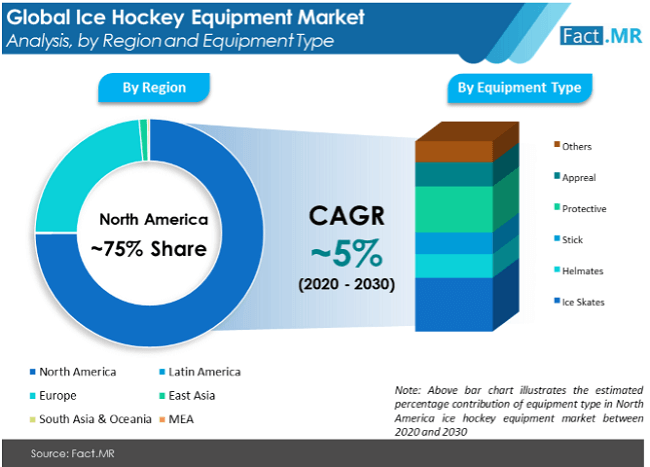 Ice Hockey Equipment Market Analysis by Region