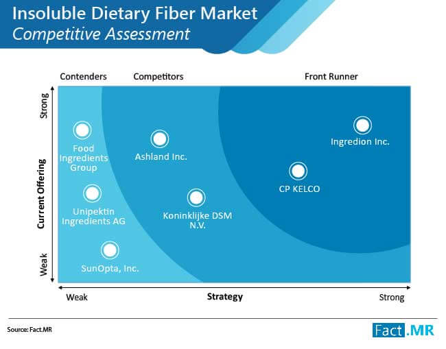 insoluble dietary fiber market competitive assessment