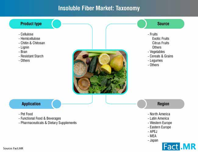 insoluble fiber market taxonomy