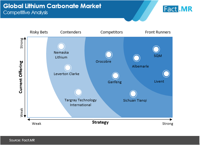 lithium carbonate market competitive analysis