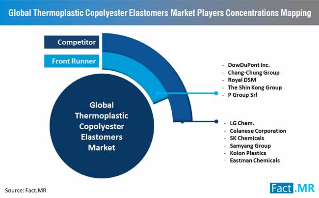 market players concentrations mapping