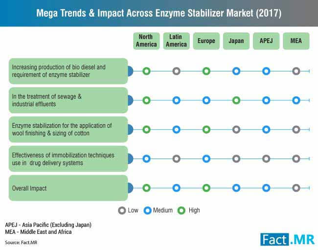 mega trends & impact across enzyme stabilizer market