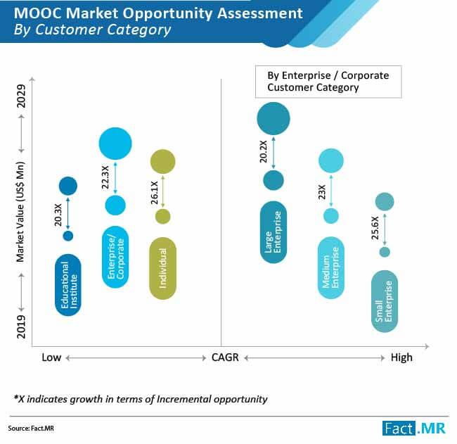 mooc market by customer category
