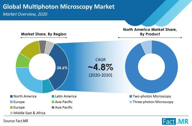 multiphoton microscopy market region