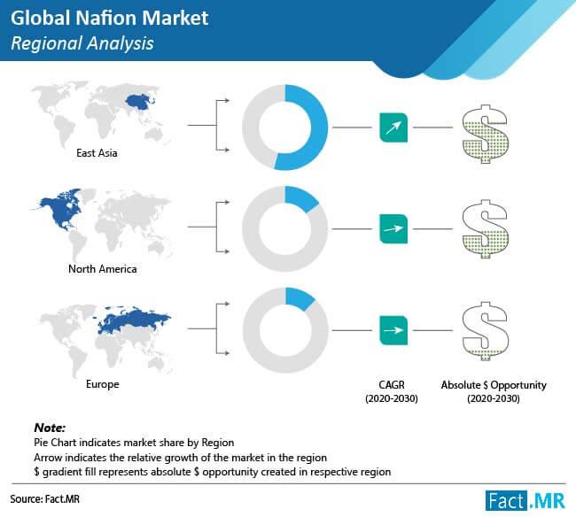 nafion market regional analysis