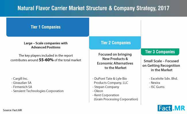 natural flavor carrier market structure company strategy