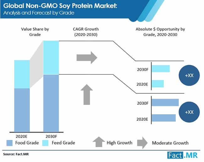 non gmo soy protein market analysis and forecast by grade