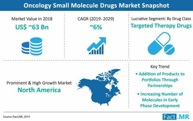 oncology small molecule drugs market snapshot