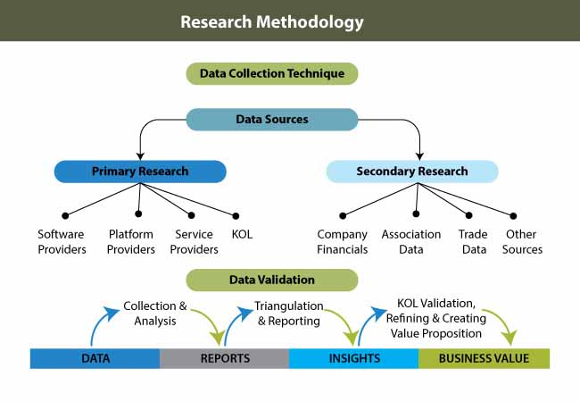 research methodology segmentation managed network services market