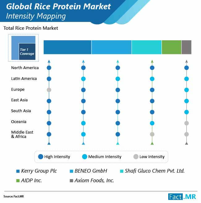 rice protein market intensity mapping