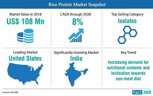 rice protein market snapshot