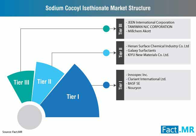 sodium cocoyl isethionate market structure