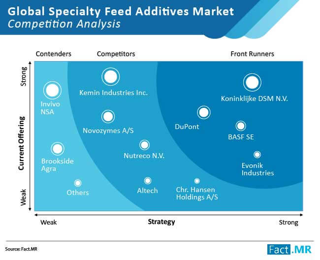 specialty feed additives market competition analysis