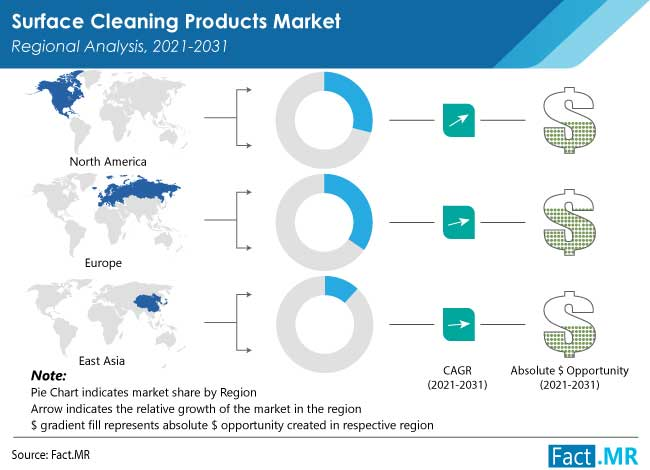 surface cleaning products market by FactMR