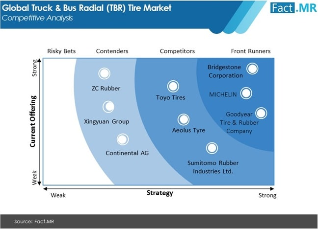 truck and bus radial tbr tire market competition analysis
