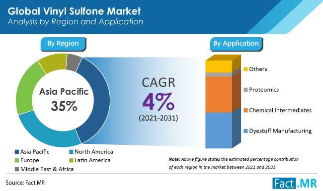 vinyl sulfone market application